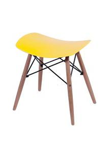 Banqueta Dkr Or Design Amarelo