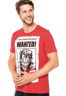 Camiseta Fashion Comics Coringa Vermelha