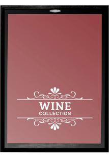 Quadro Porta Rolhas Wine L Madeira