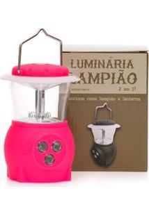 Luminária Lanterna Lampião Pink