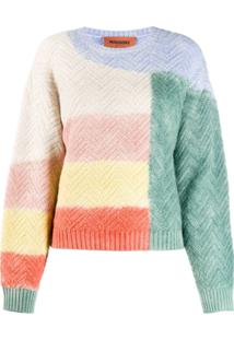 Missoni Colorblock Jumper - Verde