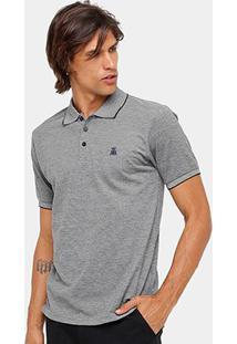Camisa Polo Broken Rules Piquet Mesclado Masculina - Masculino