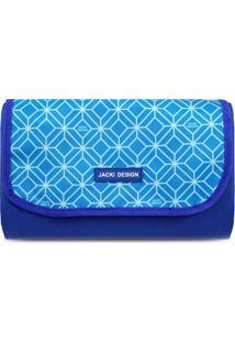 Tapete Para Piquenique Geométrico- Azul Azul Clarojacki Design