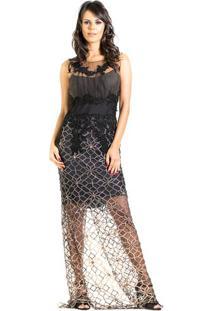 85c5526879c60 Vestido Preto Renda feminino   Gostei e agora
