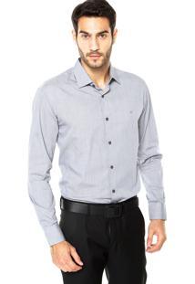 Camisa Vr Botões Cinza