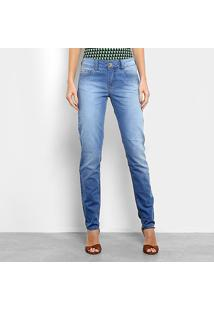 e7a7aa9b6 Calça Jeans Skinny Colcci Estonada Cintura Média Feminina - Feminino