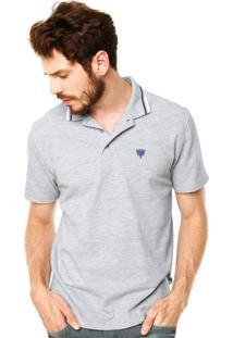 Camisa Polo Cavalera Cinza