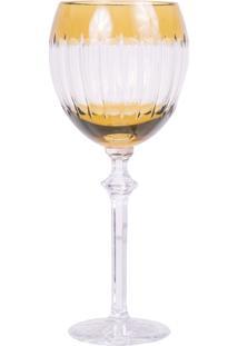 Taça De Cristal Lodz Para Vinho De 350 Ml – Âmbar Báltico