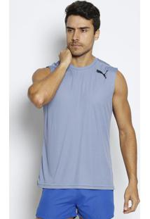6cc9136949 ... Regata Essential Sleeveless - Azul Claro   Pretapuma