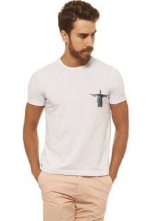 Camiseta Joss - Natureza Carioca - Masculina - Masculino-Branco