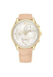 Relógio Tommy Hilfiger Feminino Couro Bege - 1782129