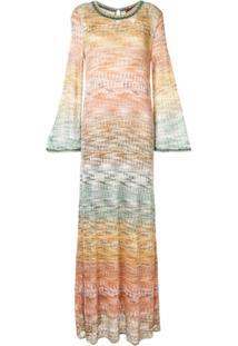 Missoni Vestido Suéter - Estampado