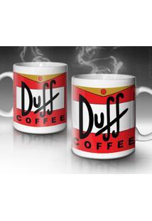 Caneca Duff Coffee