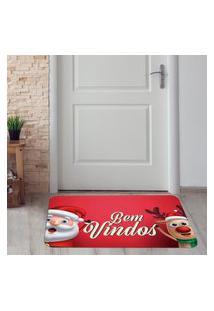 Tapete De Natal Para Porta Bem Vindos Único