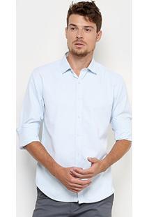 Camisa Broken Rules Social Texturizada Masculino - Masculino