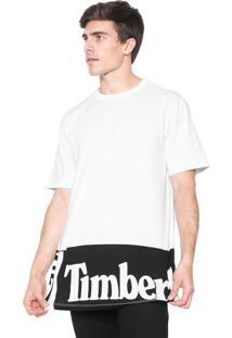 Camiseta Timberland Sls Elongated Tee Wi Branca