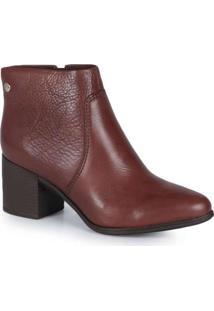 Ankle Boots Feminina Bottero Torino Marrom