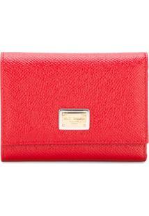 Dolce & Gabbana Carteira Modelo 'Dauphine' - Vermelho