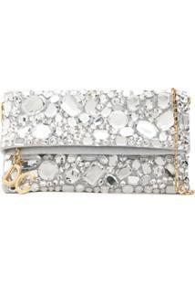 Dolce & Gabbana Bolsa Com Strass Aplicados - Prateado