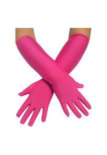 Luva Movi De Malha Pink