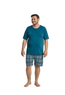 Pijama Recco Plus Size Microfibra Verde