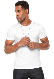 Camiseta Calvin Klein Jeans Gola Redonda Branca