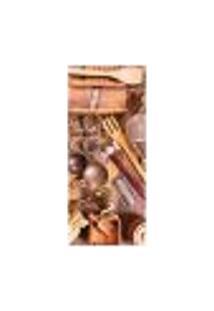 Adesivo Decorativo De Porta - Utensílios De Cozinha - 1328Cnpt