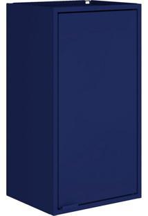 Armário Suspenso Smart 1 Pt Azul