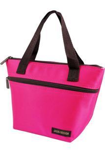 Bolsa Térmica Pequena Com Alça Jacki Design Essencial Pink - Tricae