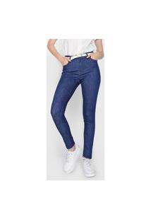 Calça Jeans Dudalina Skinny Demi Azul