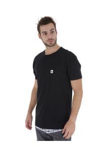Camiseta Hang Loose Leaves - Masculina - Preto