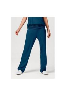 Calça Feminina Pantalona Com Elastano