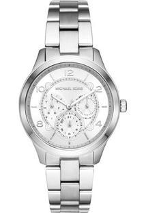 Relógio Analógico Mk6587-1Kn- Prateado- Michael Korsmichael Kors