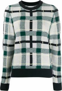 Barrie Suéter De Tricô Decote Arredondado - Verde