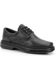 Sapato Casual Conforto Masculino Perfetto - Preto