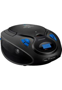 Rádio Portátil 20W Bluetooth/Cd/Usb/Sd Sp223 - Multilaser