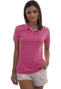 ... Polo Feminina Lagoon Rosa Pink Tigs 5409A - Gg 983d0d9a190d6