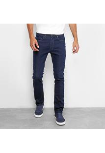 Calça Jeans Aleatory Super Escura Masculina - Masculino