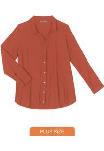 Blusa Alongada Vermelho