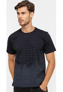 Camiseta Local Print Degradê Masculina - Masculino