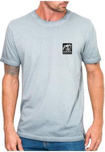 Camiseta Urza Urso Marmirizada Cinza