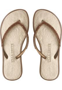 Chinelo Branco Flanela feminino   Shoelover f9a22726a9
