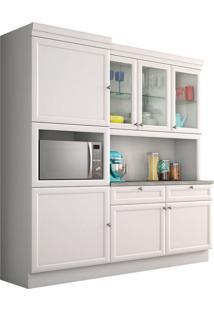 Cozinha Loft Americano 7 Portas E 2 Gavetas Branco