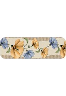 Passadeira Beautiful Flowers Único Love Decor - Kanui