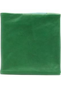 Guidi Clutch Com Aba Dobrável - Verde
