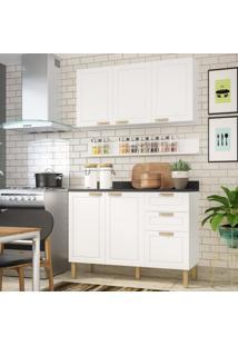 Cozinha Completa 4 Peças Americana Multimóveis 5918 Branco