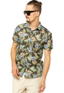 Camisa Colcci Estampa Multicolorida