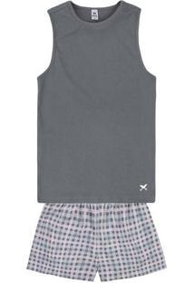 02ddb8868aee58 Pijama Feminino Hering Conforto Algodão Estampado Em Malha De