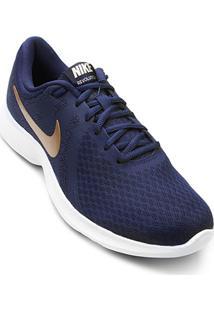 ec2ec533bd78e Tênis Azul Marinho Nike feminino
