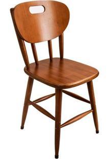Cadeira De Madeira Retro Para Mesa De Jantar - Empório Tambo